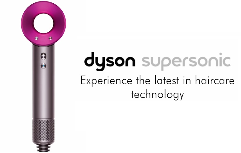 Dyson Supersonic Hair Dryer Iron Fuchsia Dchd01 Fu